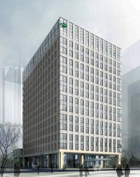 陆家嘴基金大厦,竹园商贸区,标志性建筑,品质高大上